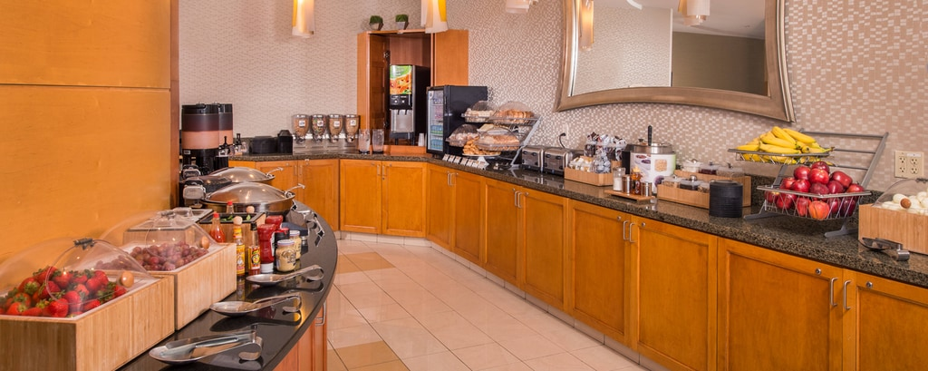 SpringHill Suites Hagerstown Hotel Breakfast