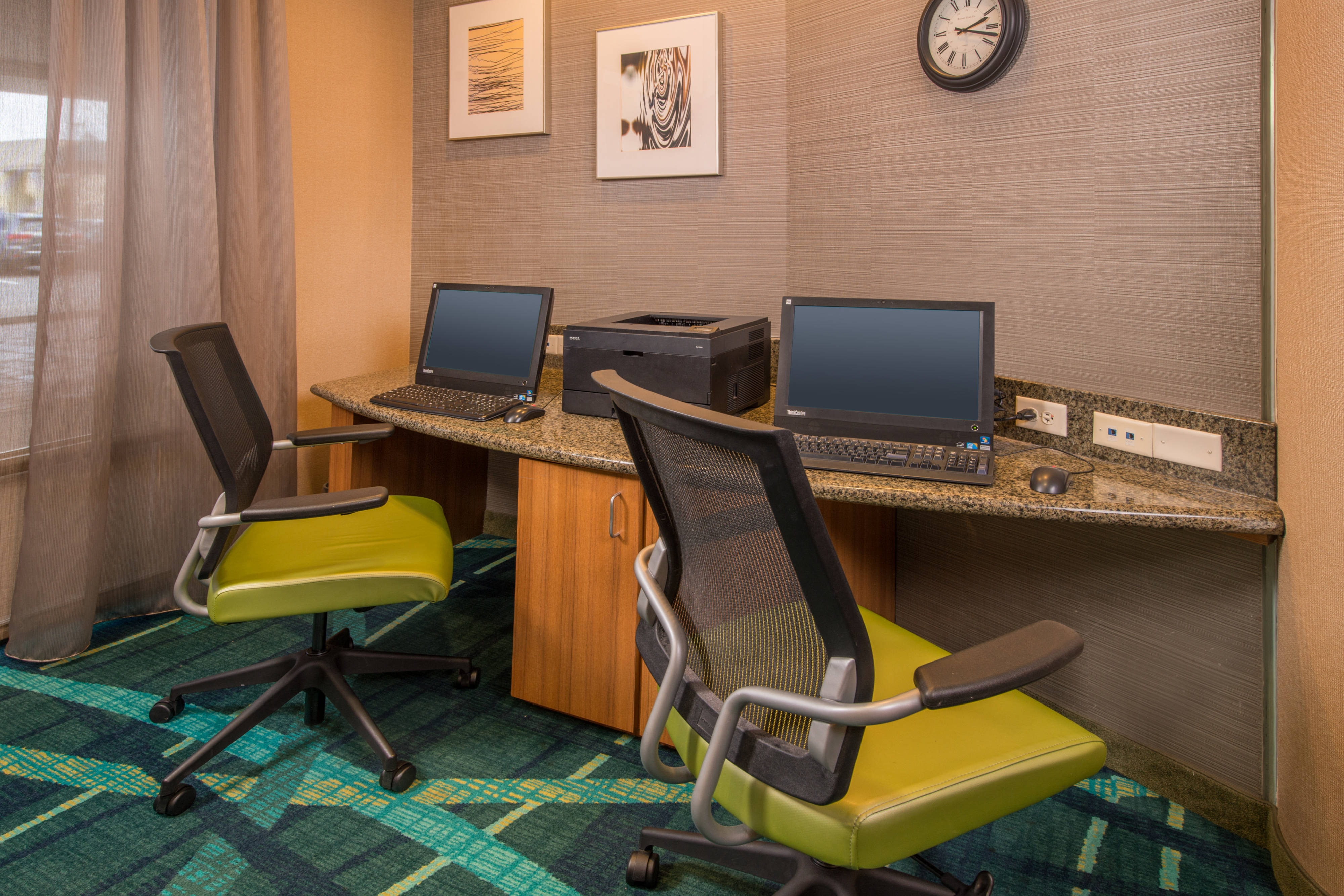 SpringHill Hagerstown Hotel Business Center