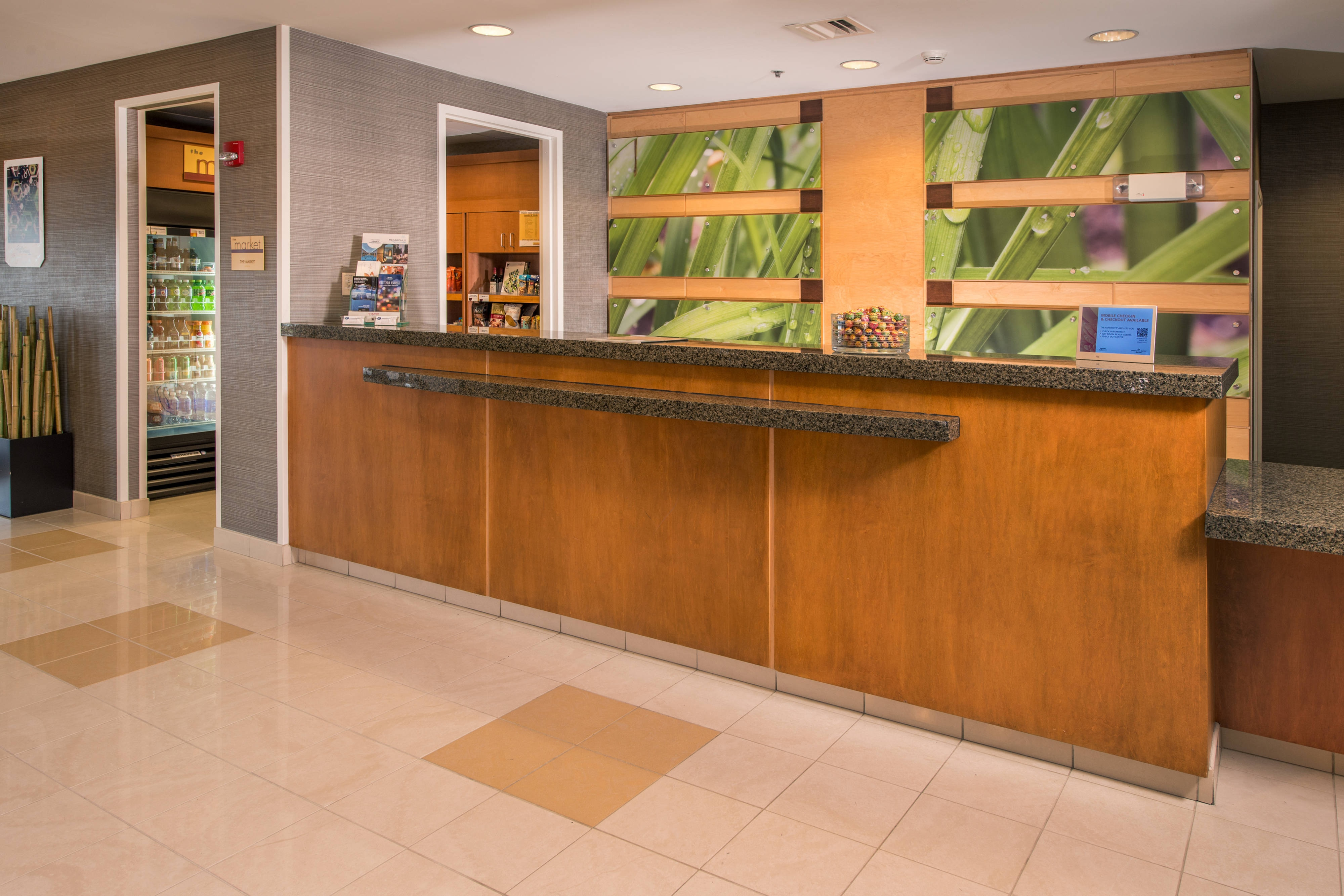 SpringHill Suites Hagerstown Front Desk