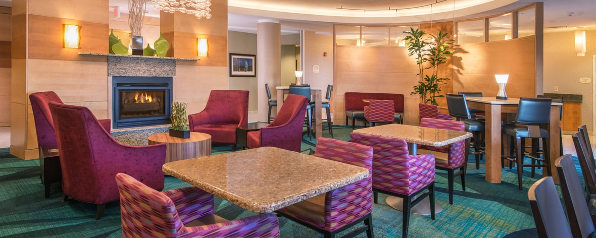 SpringHill Suites Hagerstown Hotel Lobby