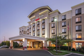 SpringHill Suites Hagerstown Hotel Entrance