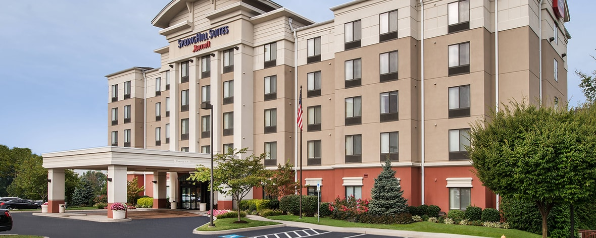 Exterior del hotel SpringHill Suites Hagerstown