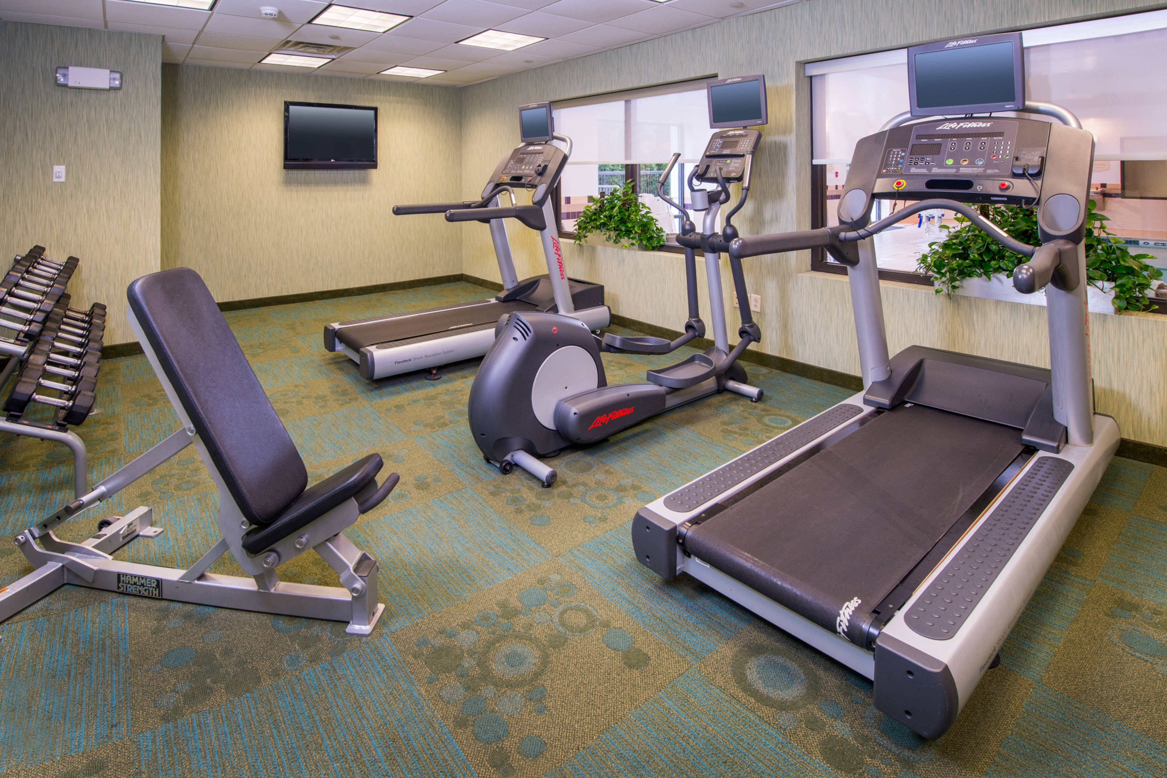 SpringHill Hagerstown Hotel Fitness Center