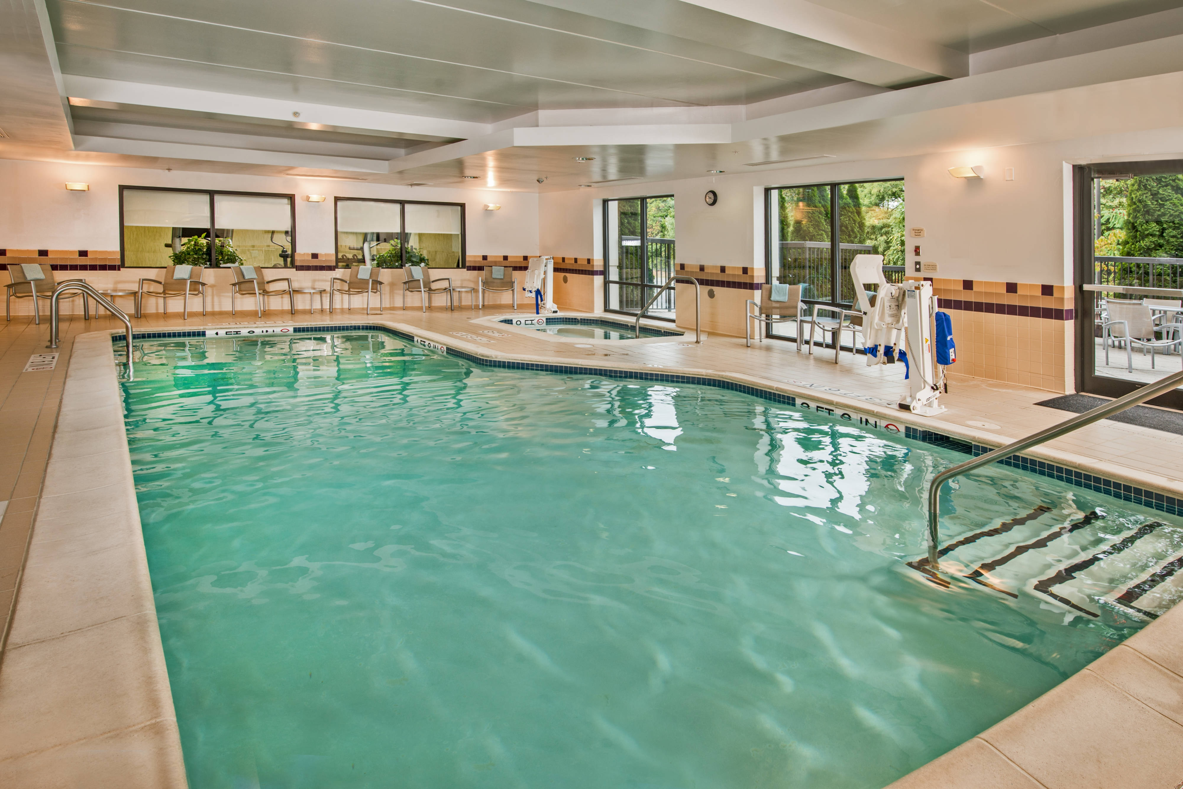 SpringHill Suites Hagerstown Hotel Pool