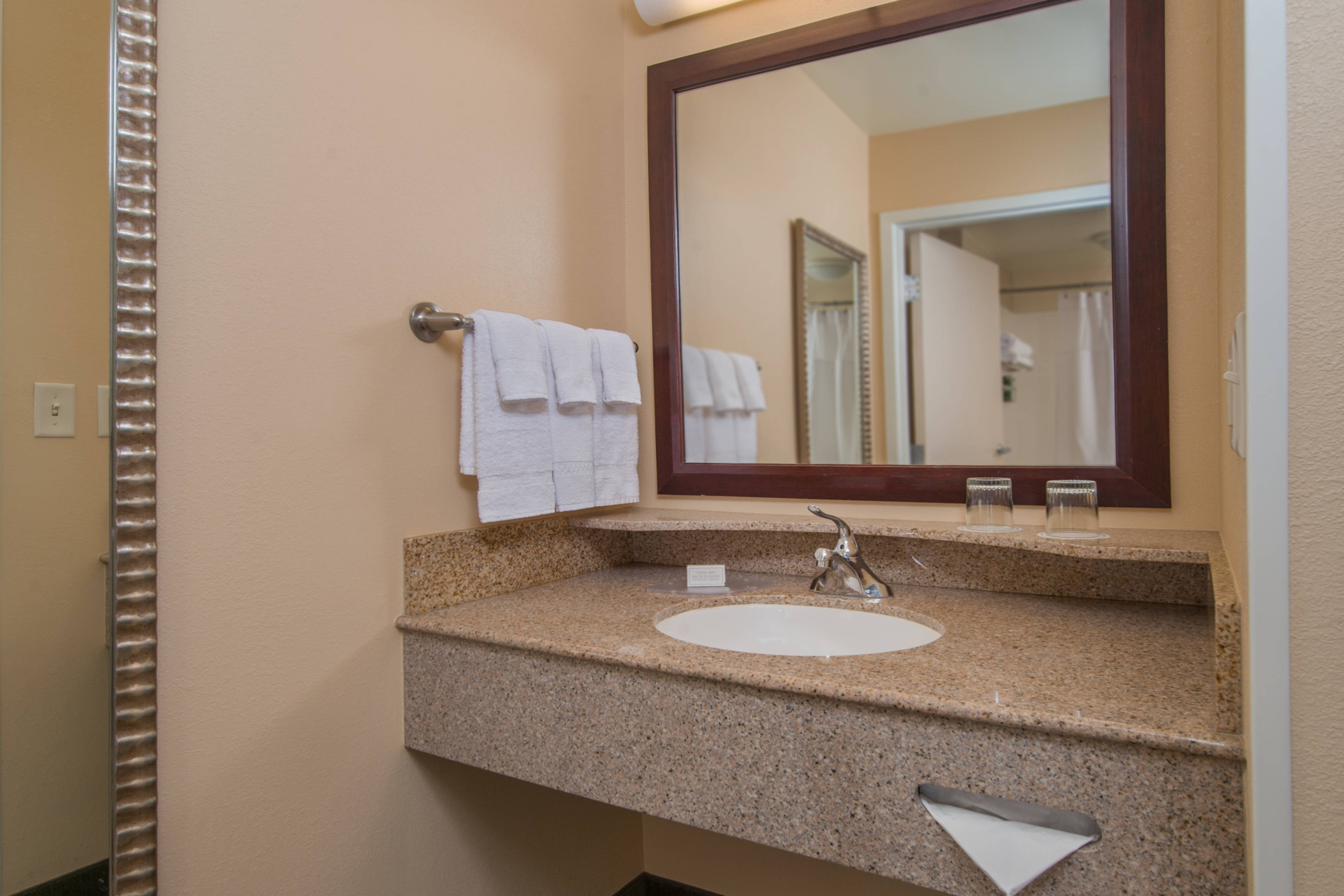 SpringHill Hagerstown Hotel Guest Bathroom