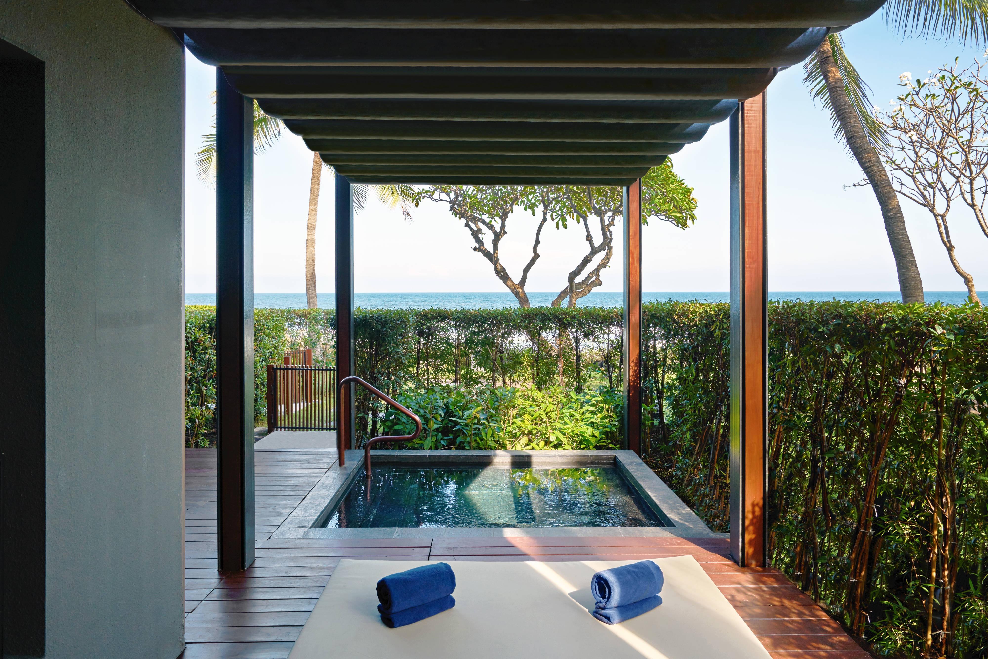 Suite con jardín - Bañera de hidromasajes al aire libre