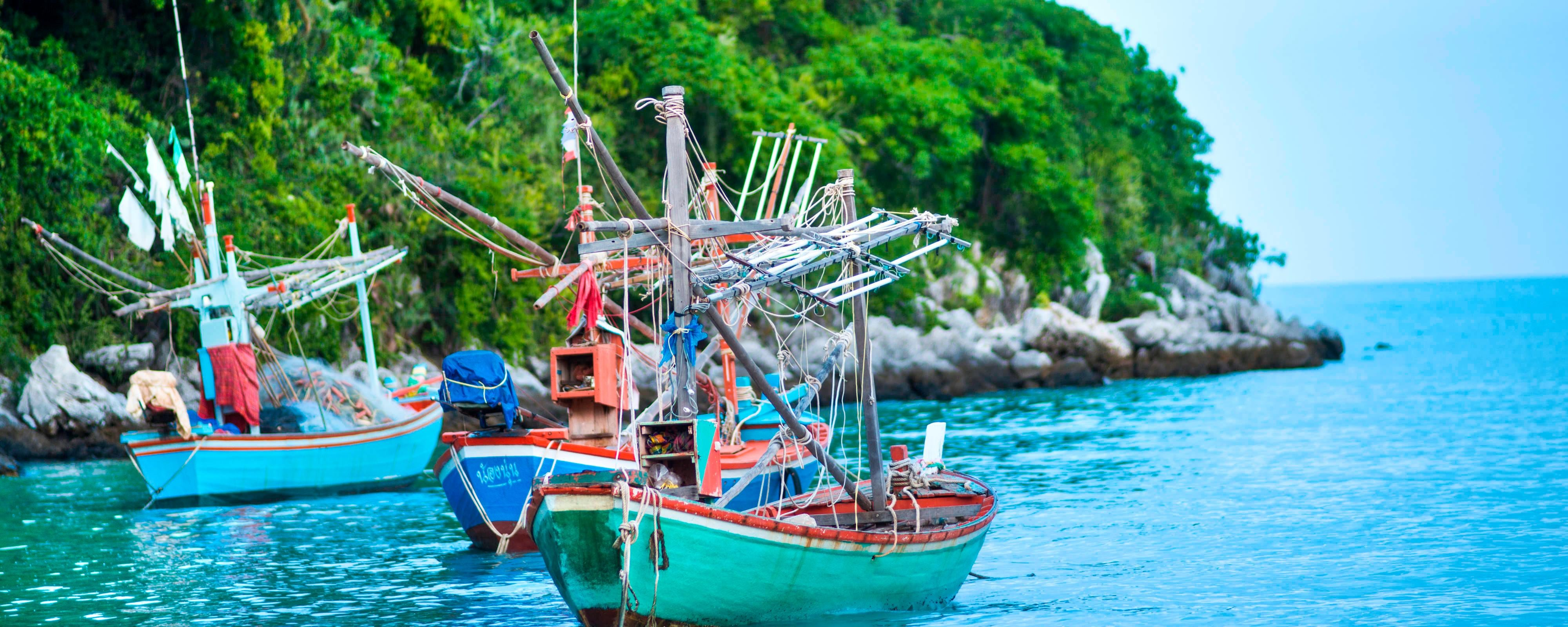 Local Living and Fishing Boats