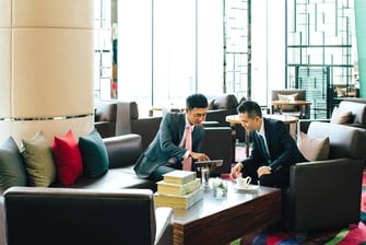 Five-Star HK Airport Hotel Lobby