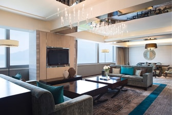 Vice Presidential Suite Living Room