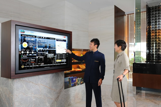 Courtyard by Marriott signature GoBoard