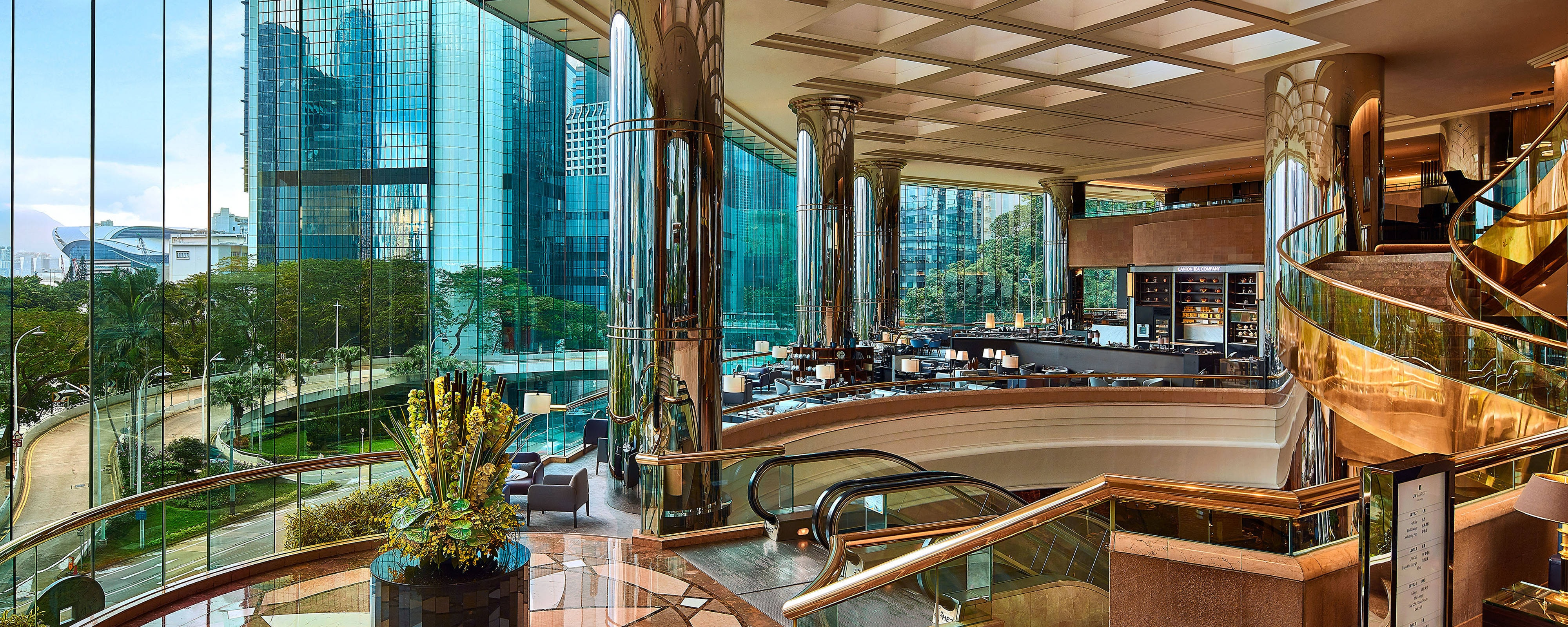 5 Star Hotel In Central Hong Kong Admiralty Jw Marriott