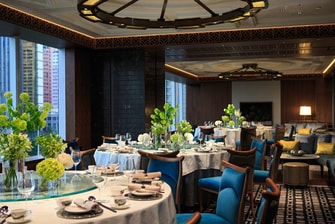 Private dining in Hong Kong