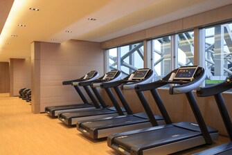 Hong Kong hotel fitness centre