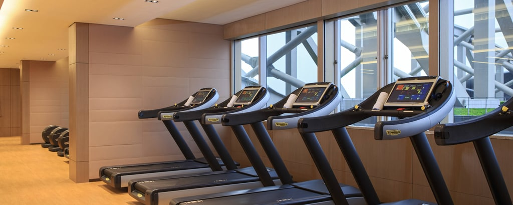 Area fitness all'hotel di Hong Kong