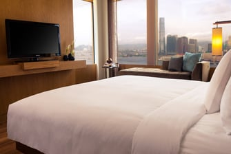 Hong Kong harbour view suite