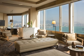 Hong Kong suite sitting area
