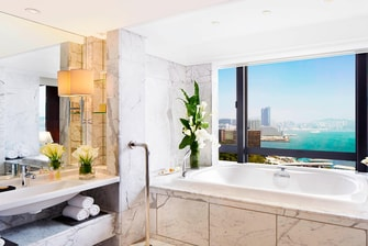 Baño de la suite Towers Penthouse