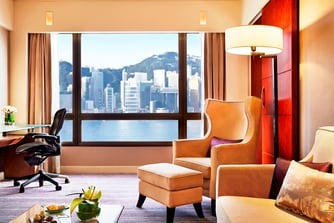 Towers Harbour View Suite – Wohnzimmer