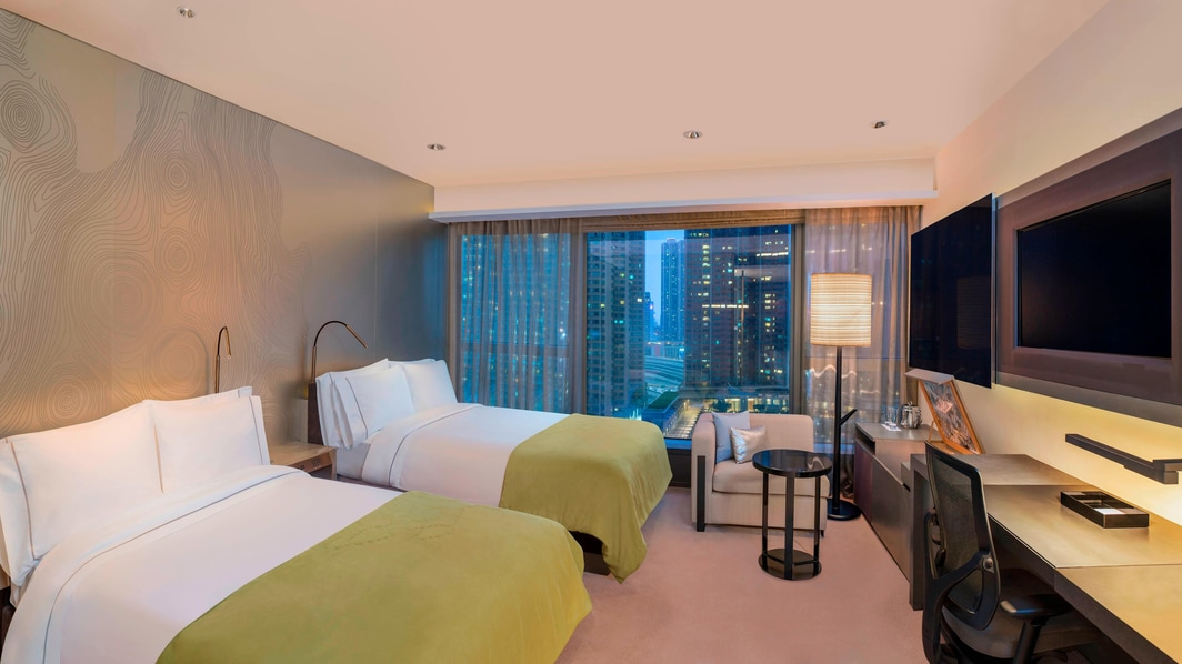 Habitación Wonderful con dos camas individuales