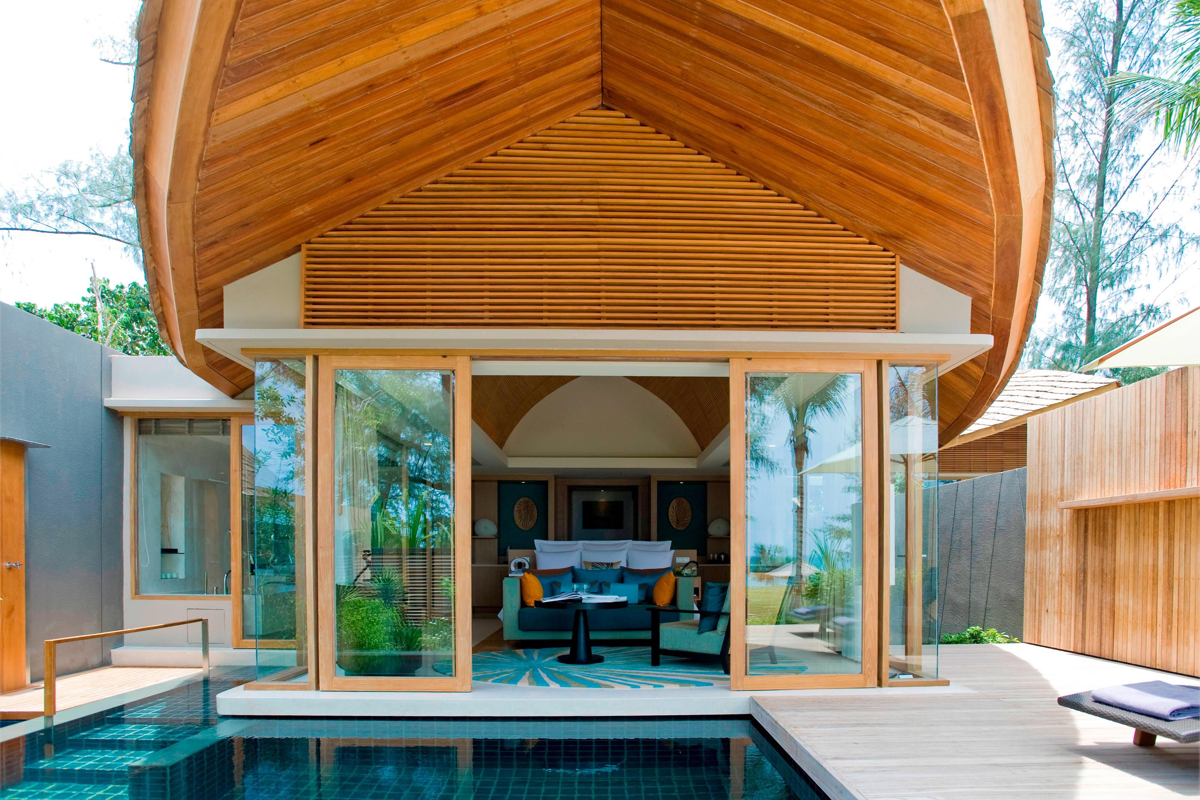 Phuket oceanfront pool villa
