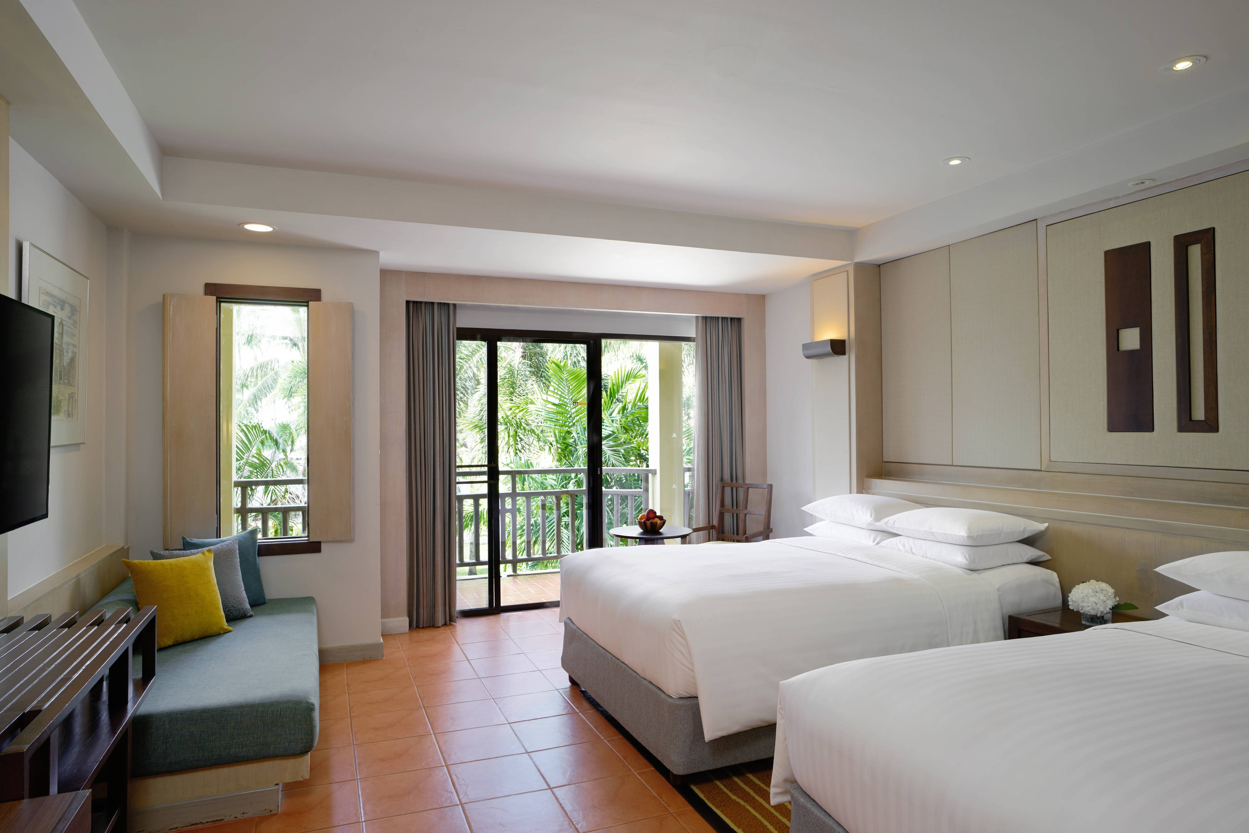 Double/Double Premier Lagoon Pool View Guest Room