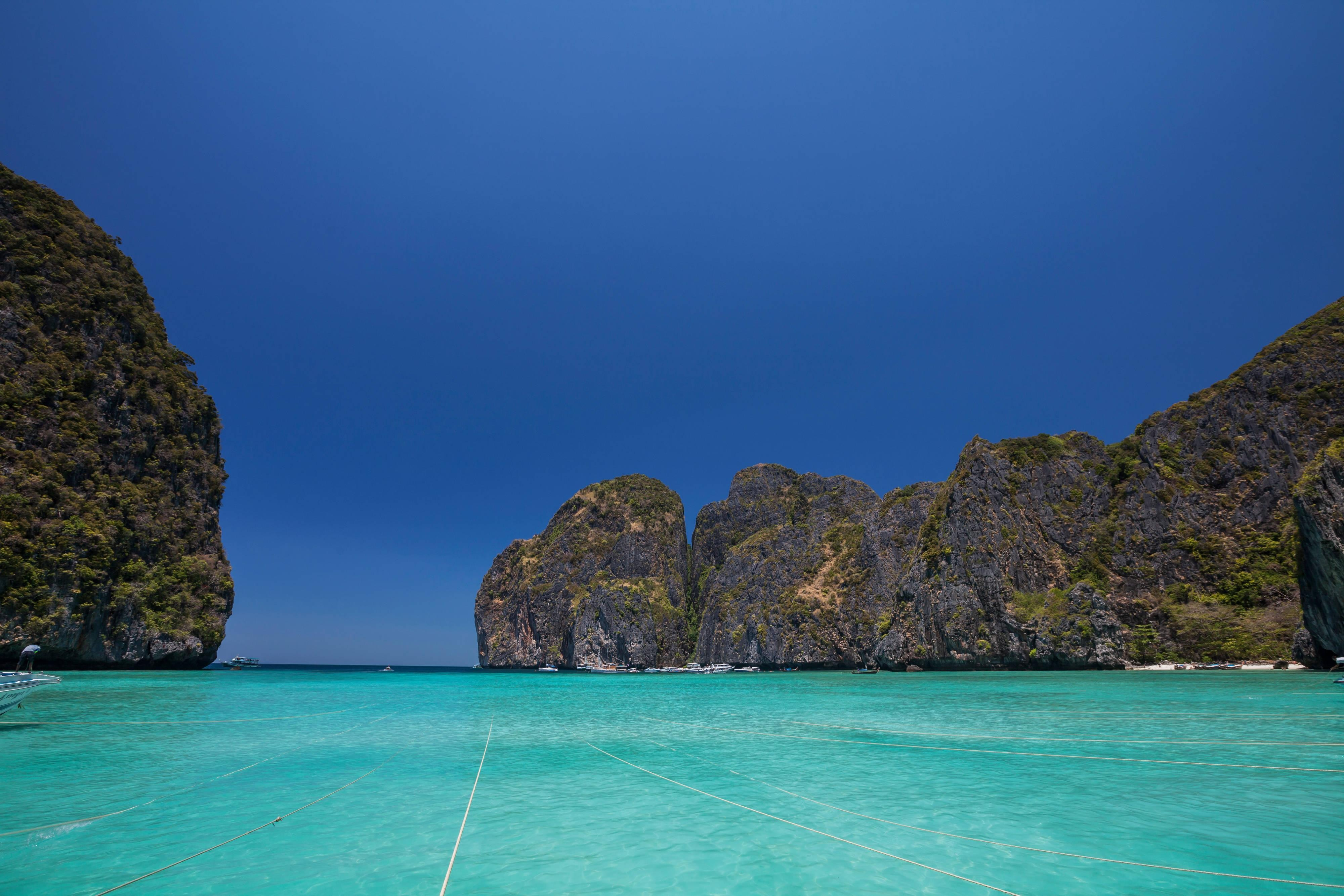 Clear Waters Around Phi Phi