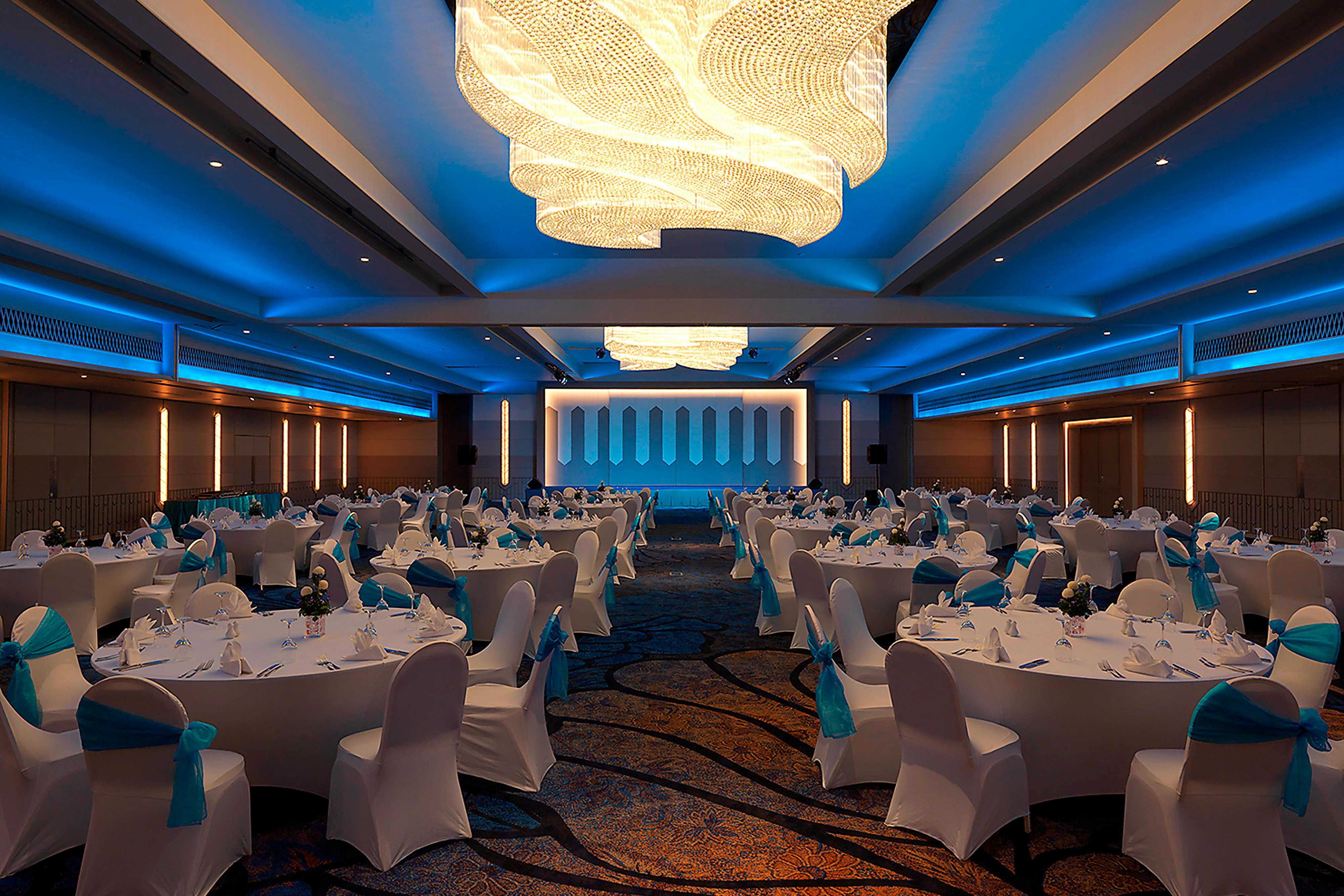 Karon Ballroom Royal Blue Theme