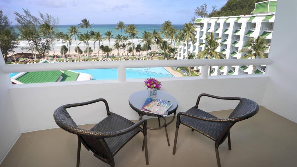 Deluxe Ocean View Room Balcony View