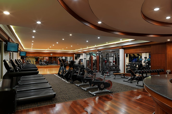 Fully Equipped Modern Fitness Centre