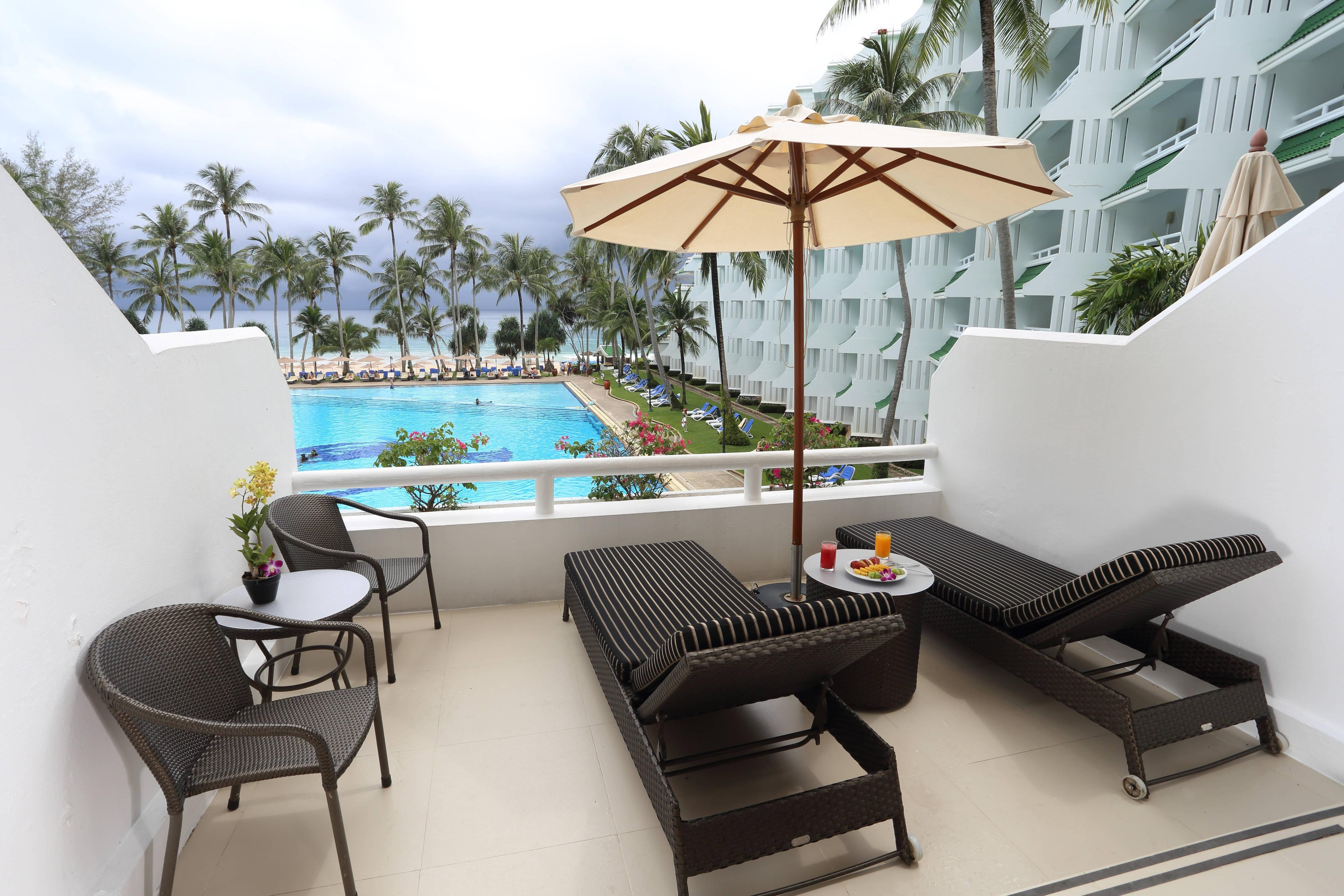 Ocean View Junior Suite - Terrace