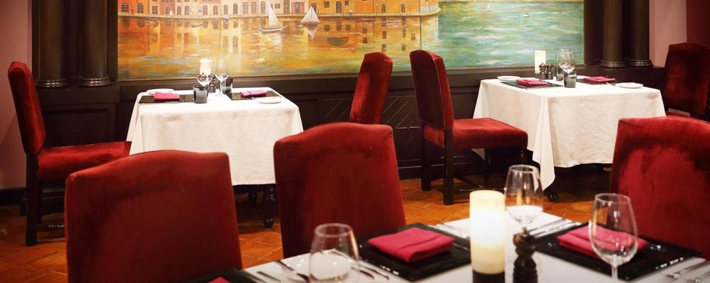 Portofino Italian Restaurant Dining Area