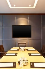 Recharge Meeting Room - Boardroom setup