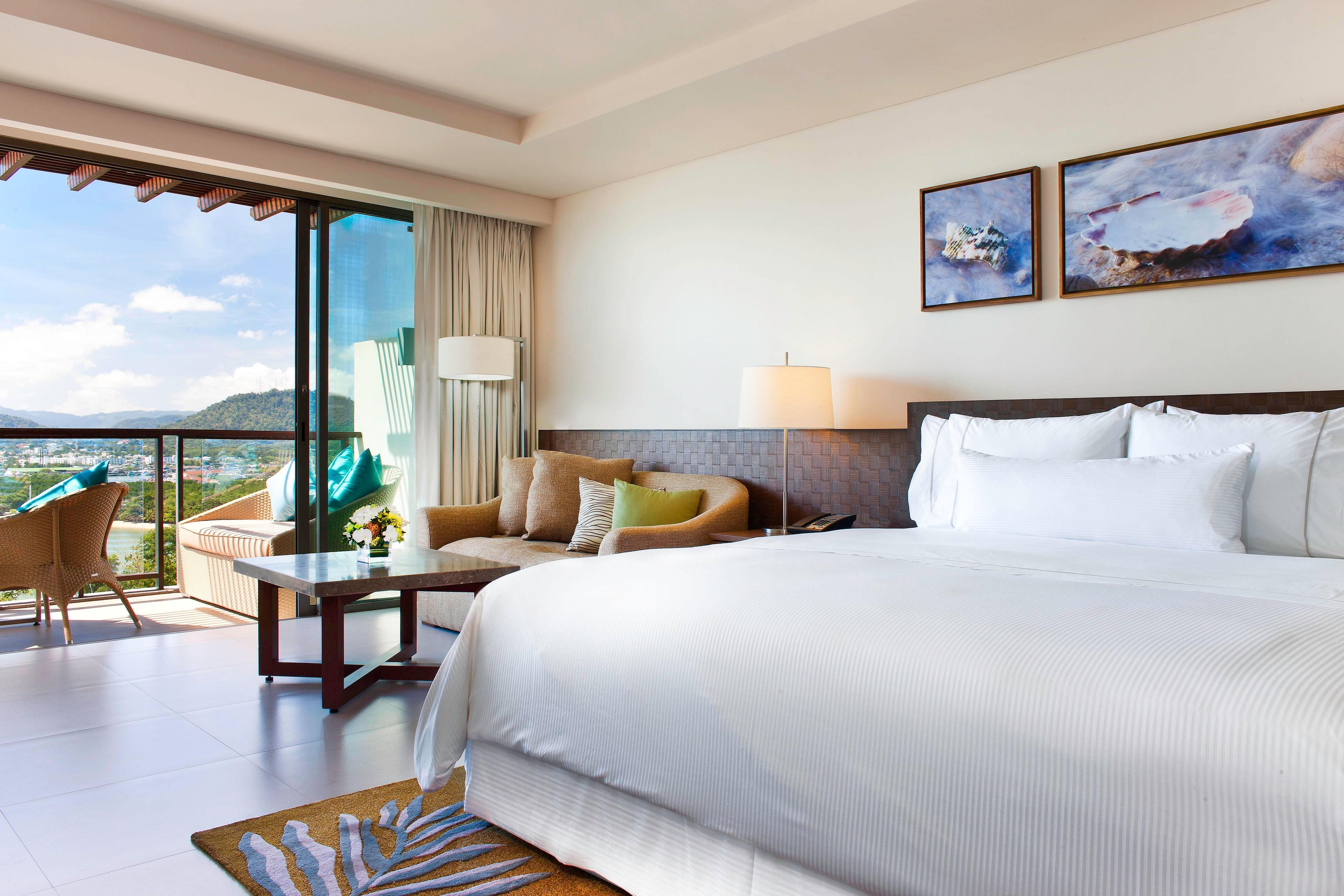 Quarto Sea View Superior - cama Heavenly