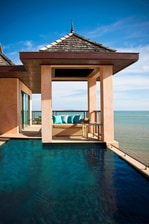 Inspire Pool Villa - plunge Pool and day bed