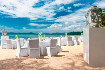 Beach Wedding - Dinner