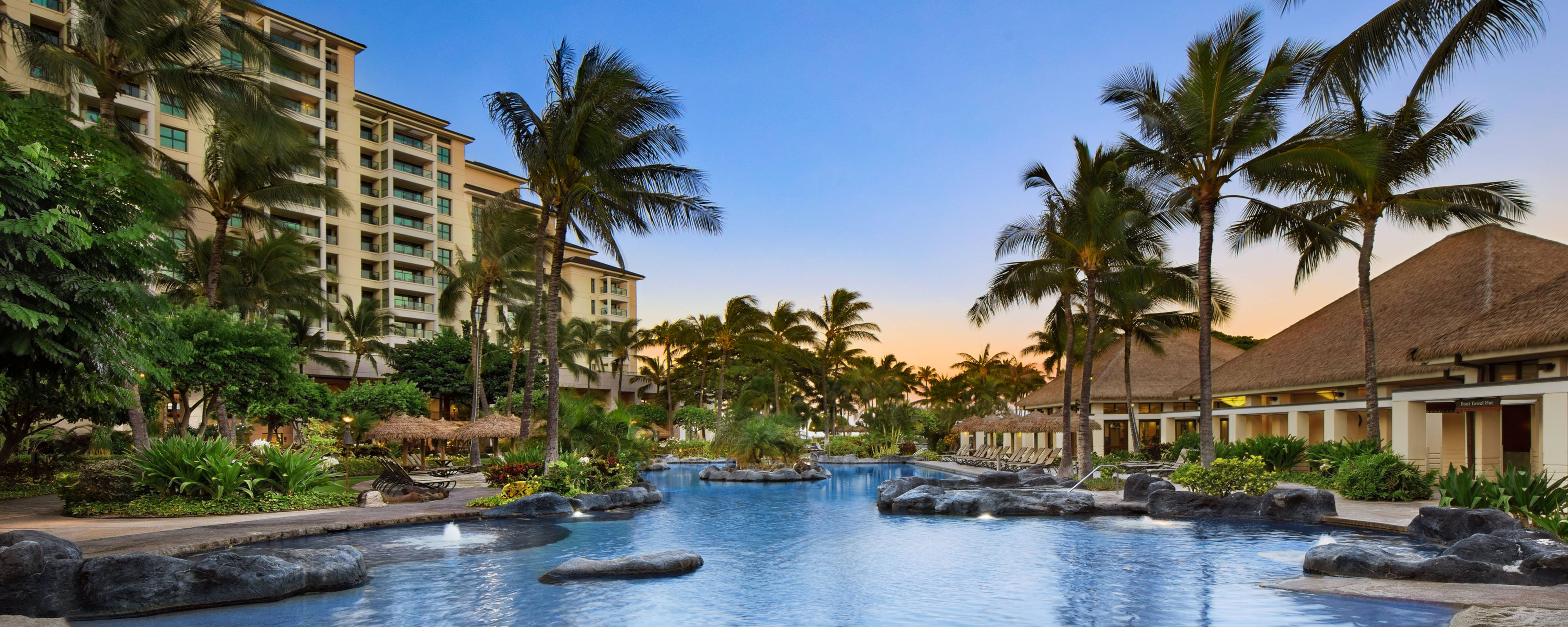 Hotel Gym  Recreation  Marriotts Ko Olina Beach Club