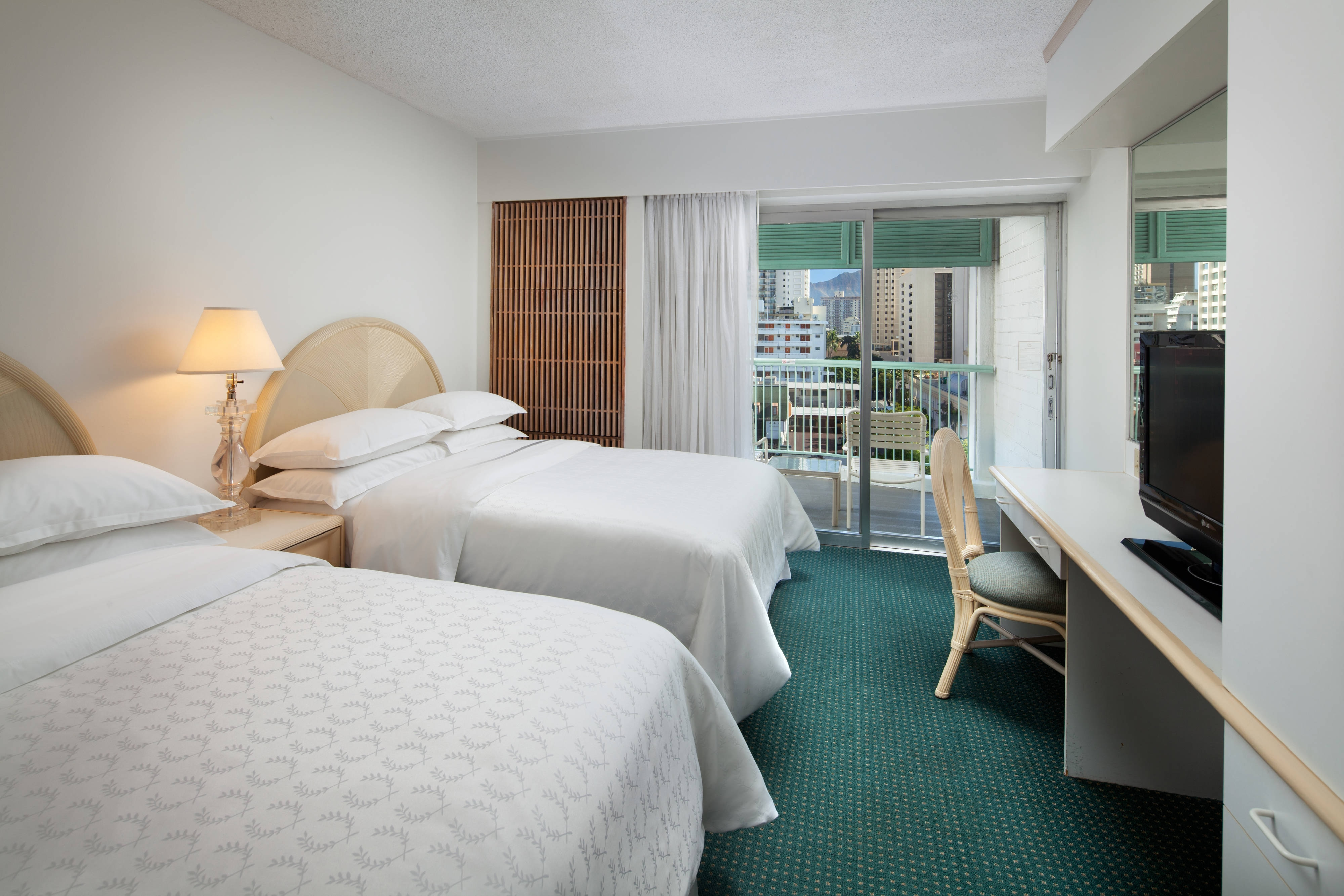 Double/Double City View Guest Room - Kailuani Wing