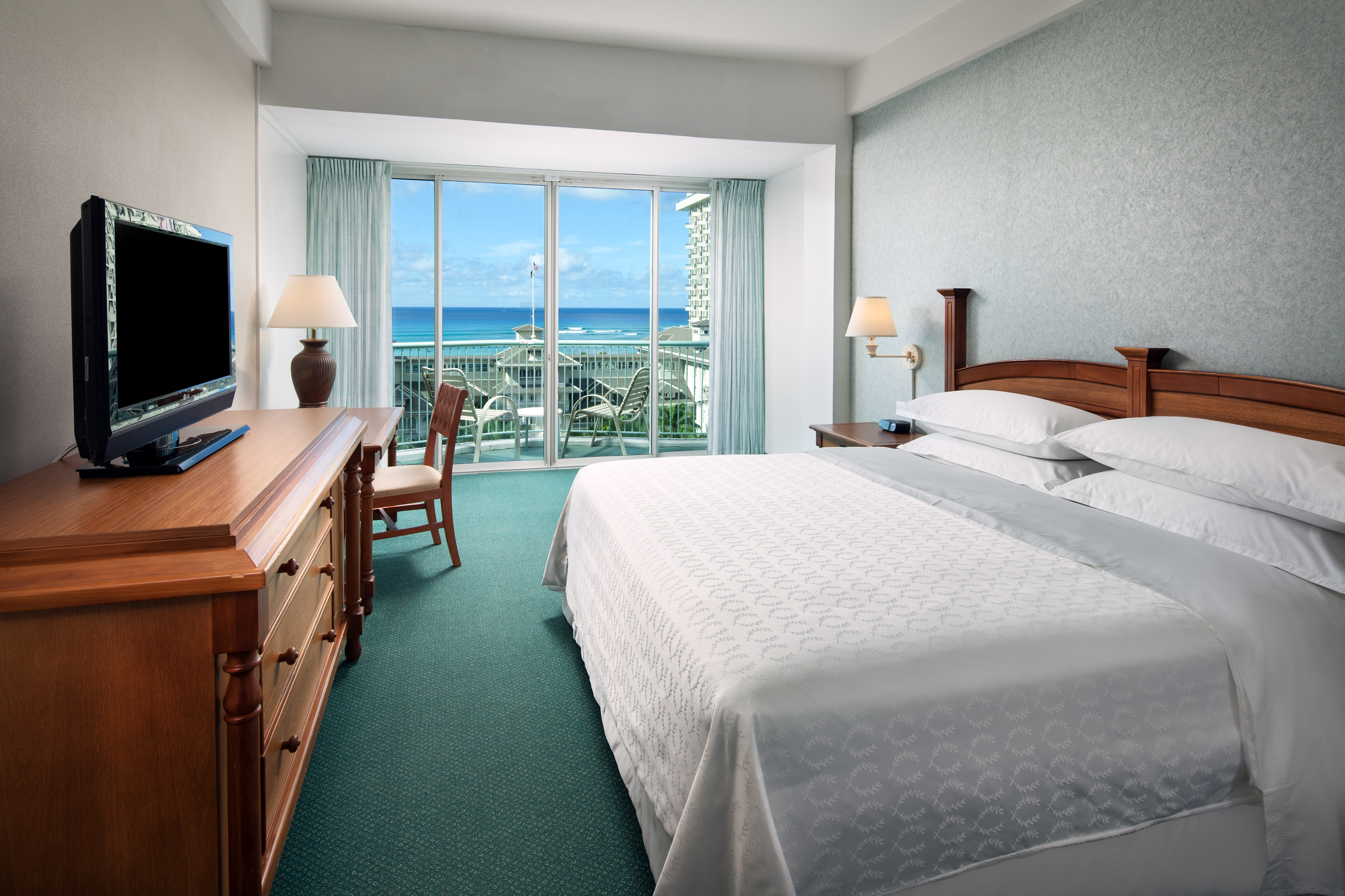 King Princess Ocean View Guest Room