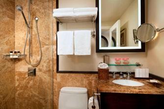 歴史あるゲスト用バスルーム
