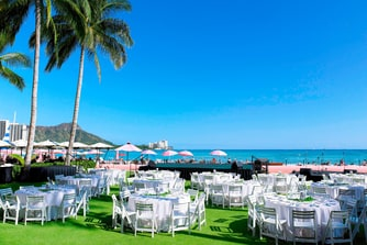 Ocean Lawn with Event