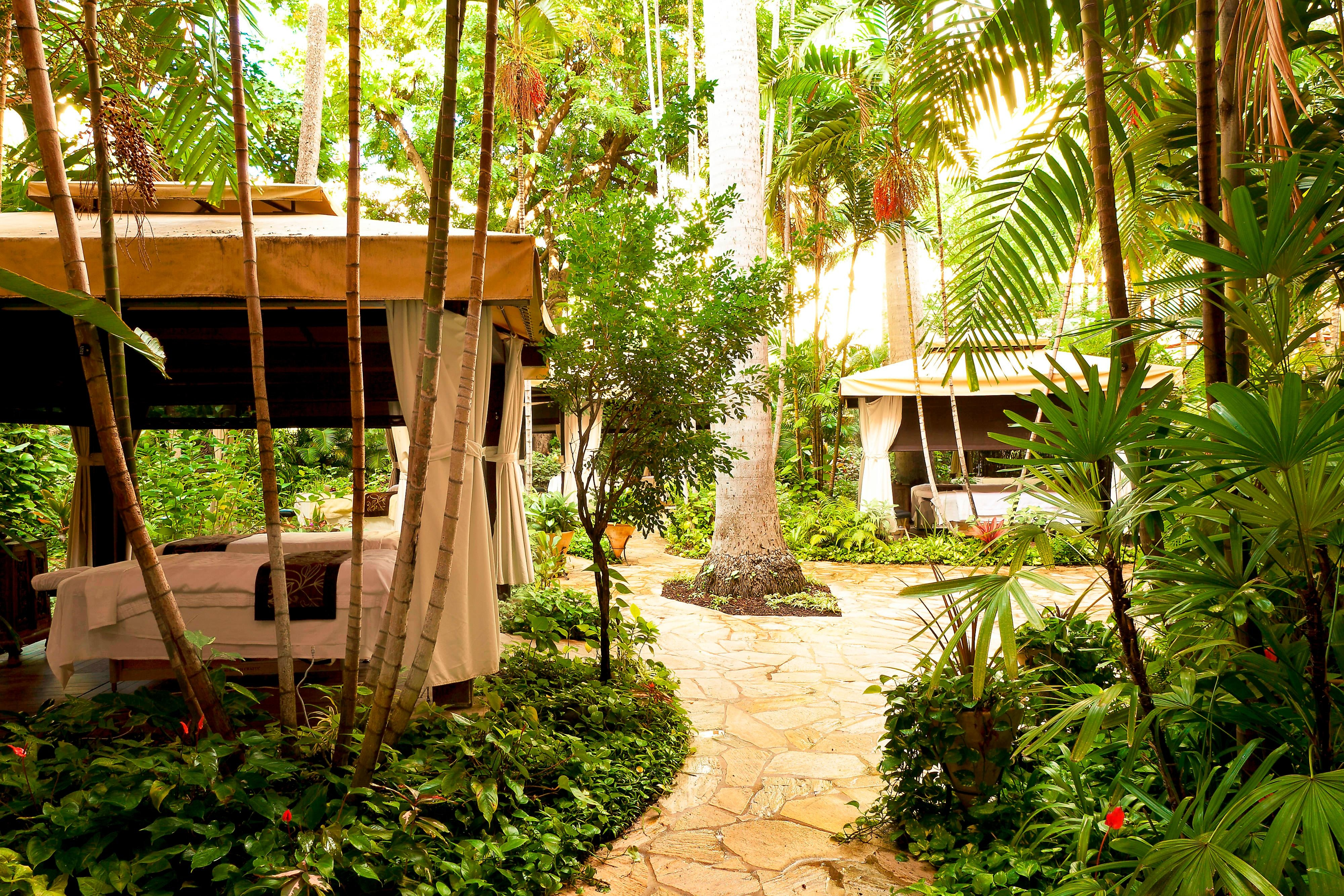 Abhasa Spa - Outdoor Cabanas