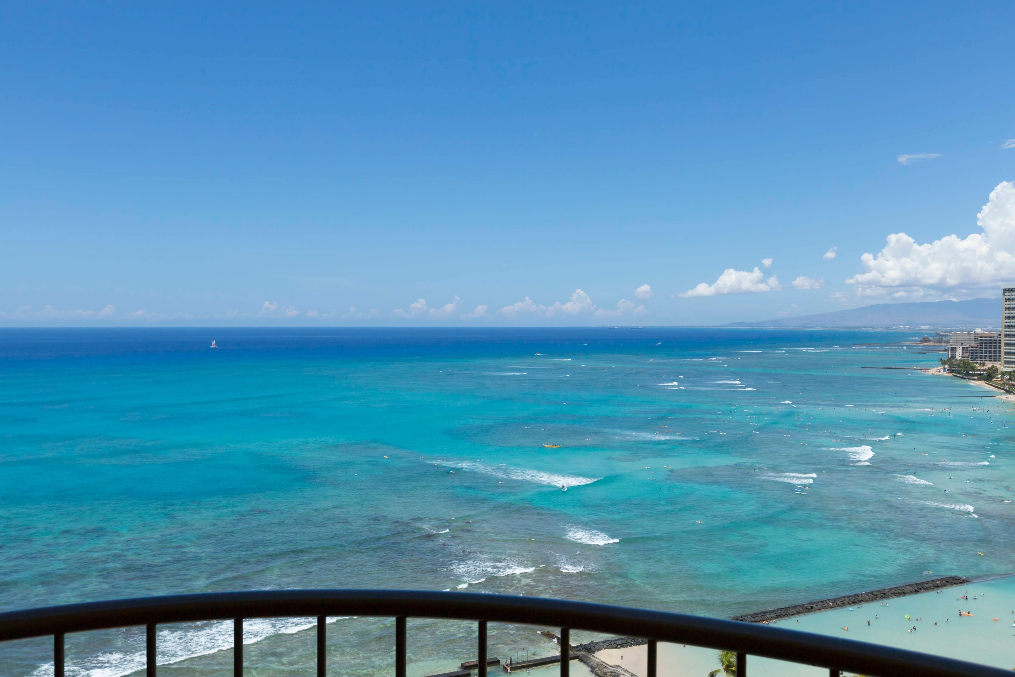 Waikiki Oceanfront Junior Suite View