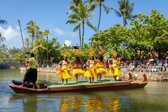 Polynesian Cultural Center water-borne show