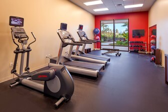 Laie hotel with fitness center