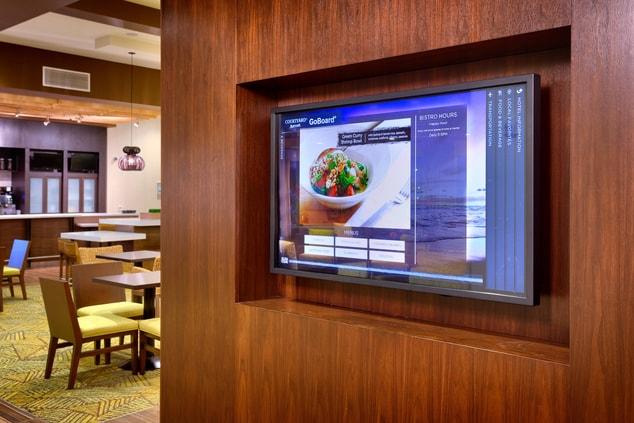 Oahu hotel interactive information board