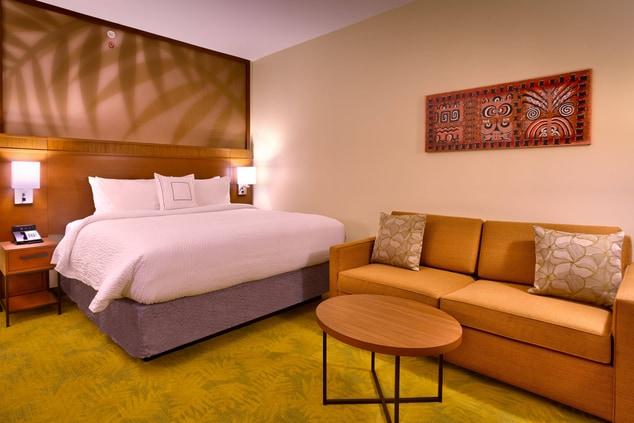 Hotel room in Laie