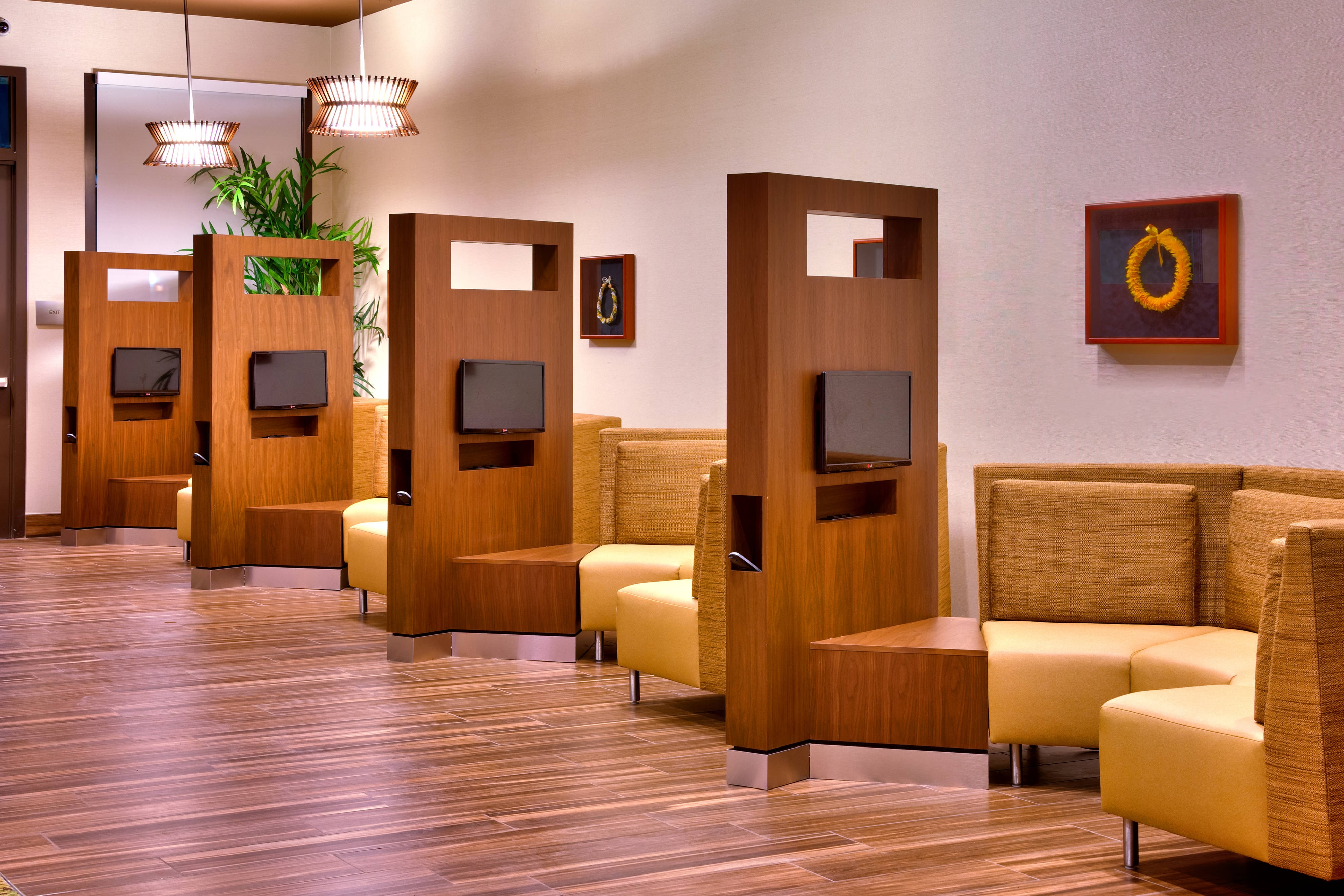 Laie Hawaii hotel media pods