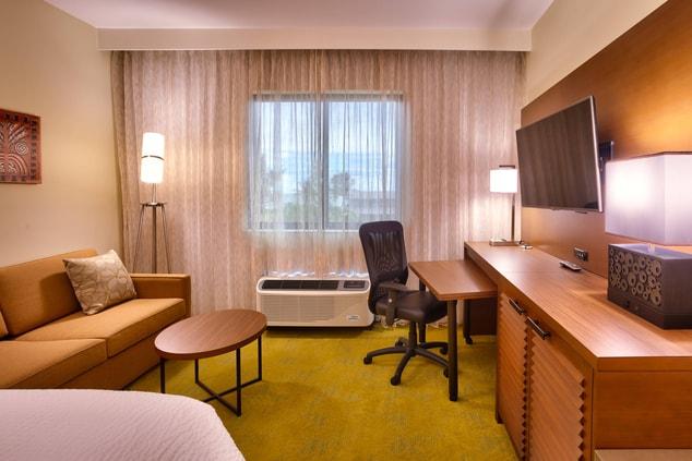 Laie Hawaii hotel suite