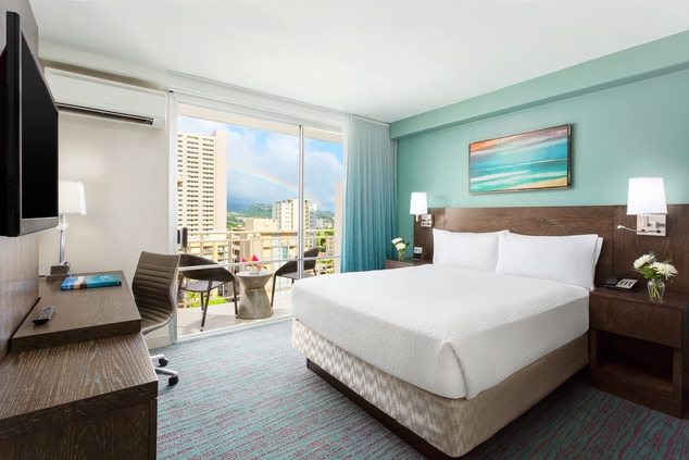 Honolulu Hotel Standard Guest Room