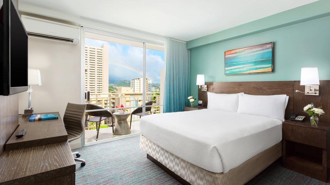 Standard-Gästezimmer in Hotel in Honolulu